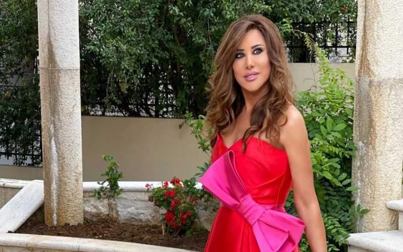 #نجوى_كرم أميرة بفستان أحمر في مناسبة عائلية خاصة!