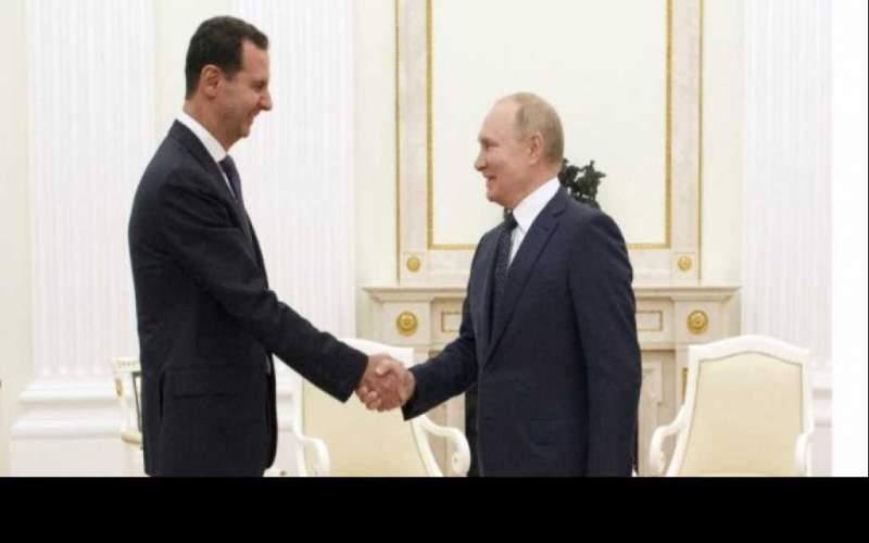 بوتين يستقبل الأسد: شعبك يثق بك