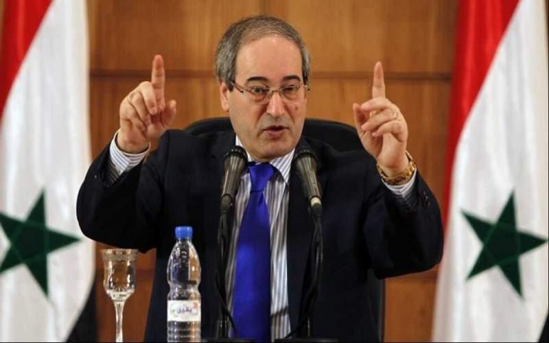 المقداد: ما يمنع عودة السوريين إلى وطنهم هي الضغوط الاقتصادية التي تمارسها الولايات المتّحدة