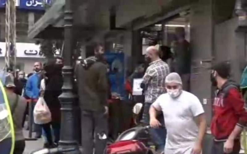 لبنان يستعد للاقفال العام، وزحمة متواصلة امام محلات المواد الغذائية والافران