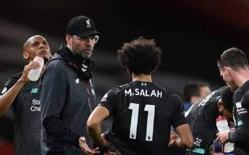 مدرب ليفربول يتجاهل إنجاز المصري صلاح