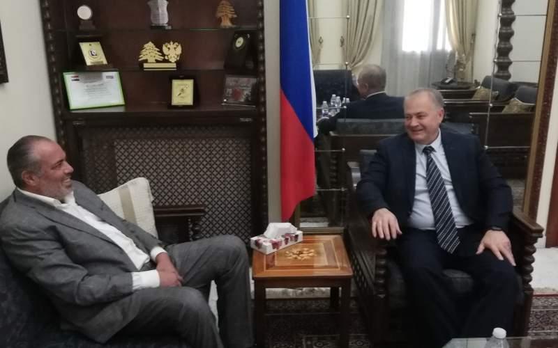 رادوكوف خلال استقباله حاطوم: مؤتمر النازحين يحتاج وفد لبناني رفيع