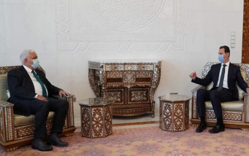 الرئيس الأسد يتلقى رسالة من رئيس الوزراء العراقي تتعلق بالعلاقات الثنائية والتعاون القائم بين البلدين في مكافحة الإرهاب