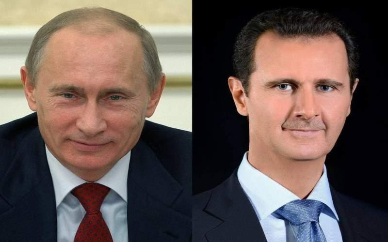 الرئيس الأسد يتلقى برقية تهنئة من الرئيس بوتين بعيد الجلاء ..روسيا تدعم سيادة واستقلال وسلامة الأراضي السورية