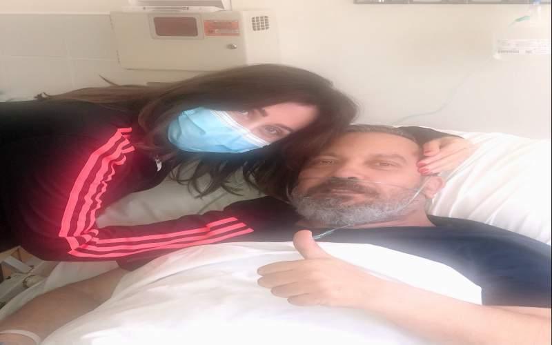 نشر الصورة الأولى للاعلامي والشاعر زاهي وهبي من غرفة المستشفى ... ما مستجدات وضعه الصحي؟
